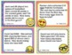 EMOJI 3rd Grade Math Word Problems Task Cards Flash Cards - Texas TEKS 3.4A