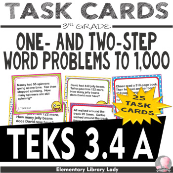 Texas teks resources teaching resources teachers pay teachers emoji 3rd grade math word problems task cards flash cards texas teks 34a fandeluxe Gallery