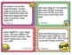 TEKS 3.4A Texas - EMOJI 3rd Grade Math Word Problems Task Cards Flash Cards