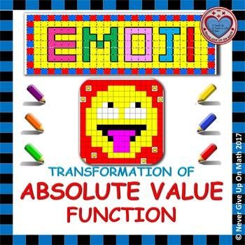 EMOJI - Absolute Value Functions - Transformation of Absolute Value Functions