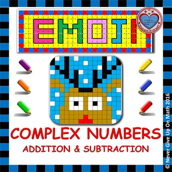 EMOJI - Adding & Subtracting Complex Numbers