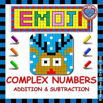 EMOJI - Adding & Subtracting Complex Numbers