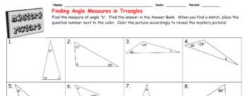 EMOJI - Angle Sum of Triangle (Sum is 180⁰)