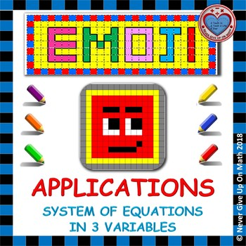 EMOJI - Applications on System of Equations with 3 Variables