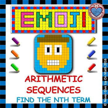 EMOJI - Arithmetic Sequences: Find the nth term