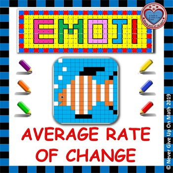 EMOJI - Average Rate of Change (Linear & Non-Linear Functions)