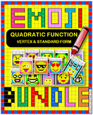 EMOJI - BUNDLE Quadratic Function
