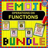 EMOJI - BUNDLE Operations on Functions (5 EMOJIS)