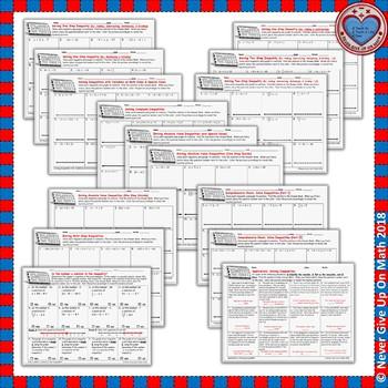 EMOJI - BUNDLE SOLVING INEQUALITIES 50%+ OFF (11 EMOJIS)