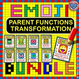 EMOJI - BUNDLE Transformation of Functions [Quad, Abs Val, ...] - 9 EMOJIS