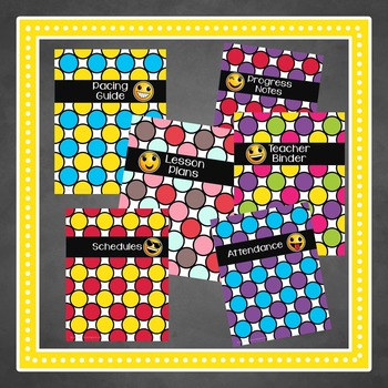 EMOJI Binder Covers & Dividers