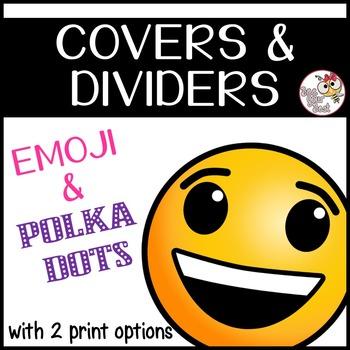 EMOJI Binder Covers & Dividers