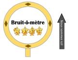 EMOJI Bruit-ô-mètre / Noise-o-meter FRENCH