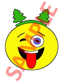 CHRISTMAS CLIPART | EMOJI CLIPART | CHRISTMAS CRAFTS FOR KIDS