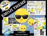 EMOJI / CONFETTI theme classroom decorations BACK TO SCHOOL