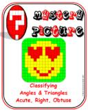 EMOJI - Classify Angles & Triangles (Acute, Right, Obtuse)