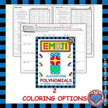 EMOJI - Classifying Polynomials