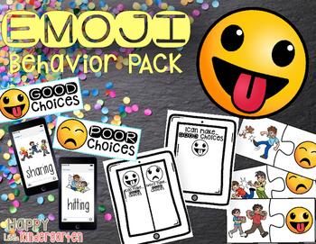 EMOJI Classroom Rules and Behavior Pack