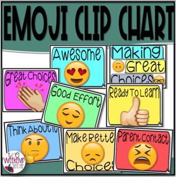 EMOJI Clip Chart Behavior System