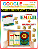 EMOJI - Complementary Angles (Google Interactive & Hard Copy)