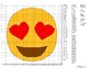 EMOJI Coordinate Graphing Mystery Picture (Smiling Face With Heart-Eyes)