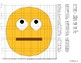 EMOJI Coordinate Graphing Mystery Picture (Face With Rolling Eyes)
