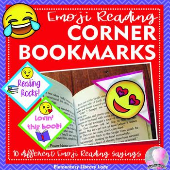EMOJI Corner Bookmarks