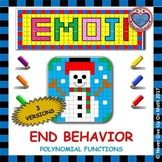 EMOJI - Describe the End Behavior (Notation in 3 different versions)