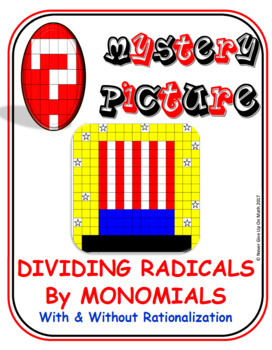 EMOJI - Dividing Radicals (By Monomials) (Google Interactive & Hard Copy)