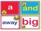 EMOJI Dolch Pre-Kindergarten Pre-K Grade Sight Words Flash Cards Letters Numbers