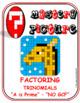 "EMOJI - Factor Trinomials PRIME ""a"" (Google Interactive & Hard Copy)"
