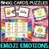 EMOJI Emotion Game Bundle - Bingo(lotto), Charades, puzzles etc