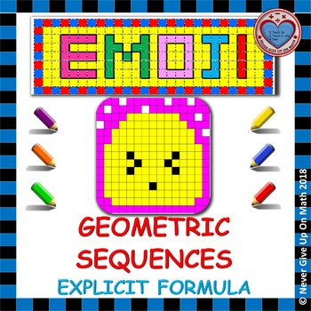 EMOJI - Explicit Formula of Geometric Sequence