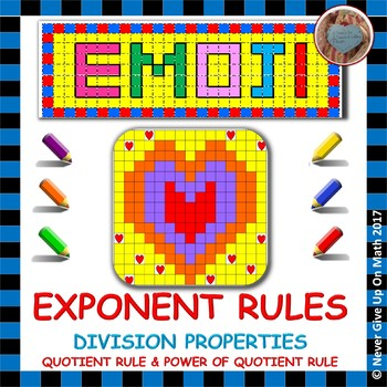 EMOJI - Exponent Rules - Division Properties