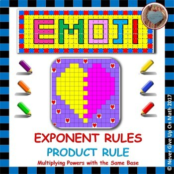 EMOJI - Exponent Rules - Product Property