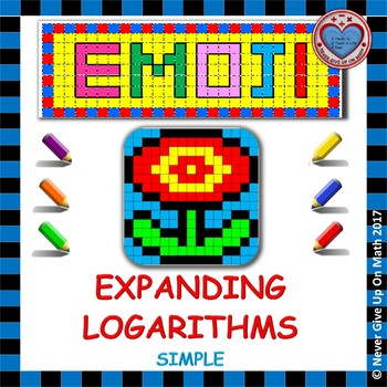 EMOJI - Exponential Functions: Expanding Logarithms (Simple)