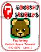 EMOJI - Factor Perfect Square Trinomial: Level 1(Google Interactive & Hard Copy)