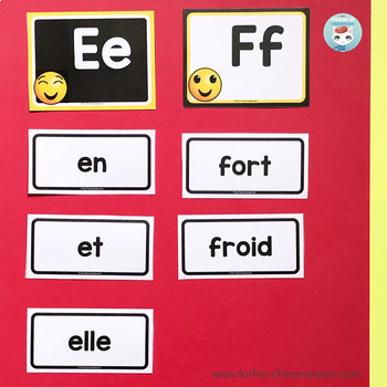 French word wall   mur des mots EMOJI