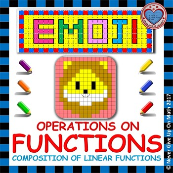EMOJI - Find the Function Rule: Composition of Functions