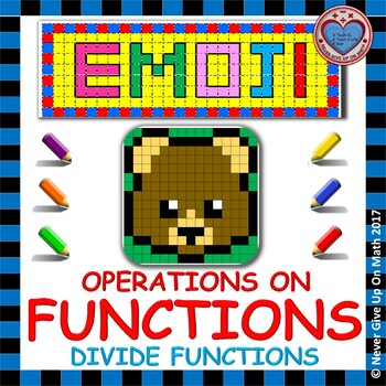 EMOJI - Find the Function Rule: Dividing Functions