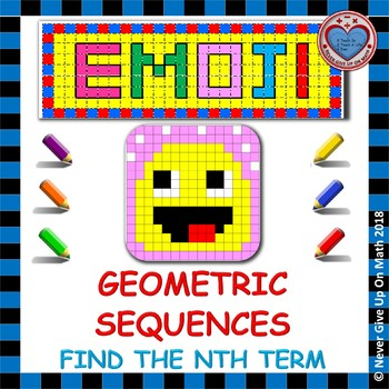 EMOJI - Geometric Sequences: Find the nth term