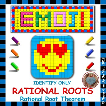 Emoji Identify Actual Rational Roots Using Rational Root Theorem