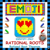 EMOJI - Identify Actual Rational Roots using Rational Root Theorem