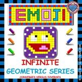 EMOJI - Infinite Geometric Series: Converges VS. Diverges & SUM