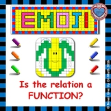 EMOJI - Is the relation a Function?