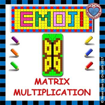 Matrix Multiplication Worksheets & Teaching Resources | TpT