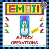 EMOJI - Matrix Operations (Level 3)