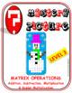 EMOJI - Matrix Operations (Level 3) (Google Interactive & Hard Copy)