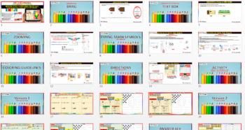 EMOJI - Multiply & Divide Radicals W/ Variables (Google Interactive & Hard Copy)