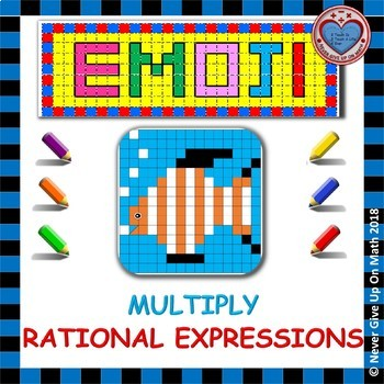 EMOJI - Multiply Rational Expressions